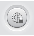 Global Security Icon vector image