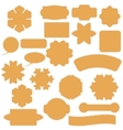 Set of Commercial Stickers Badges and Elements vector image