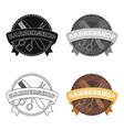 barber s signbarbershop single icon in cartoon vector image