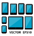 Smartphones and Tablets vector image