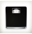 Bathroom scale vector image vector image