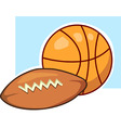 sports ball vector image vector image