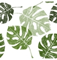 tropical leaves seamless vector image