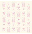 Ballerina shoes background vector image