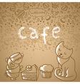 design of menu vector image