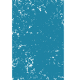 grunge abstract pattern in blue over white vector image