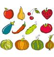 Vegetables Fruit vector image