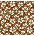 Spring flower pattern vector image