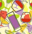 AlcoholBackground vector image