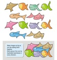 fish cartoons vector image vector image