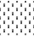 Interior door pattern simple style vector image