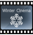 Winter Cinema vector image