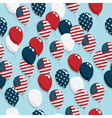 american balloons vector image vector image