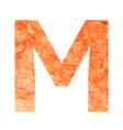 m land letter vector image
