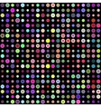 Multicolored circles vector image vector image