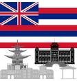 Hawaii vector image vector image