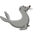 cute seal cartoon vector image