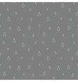 Seamless pattern of rain vector image