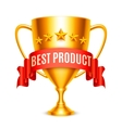 Best Product Award vector image