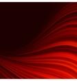 Abstract glow Twist with golden flow EPS 10 vector image vector image