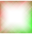 Abstract Elegant Red Green Background vector image