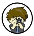 takingpicture vector image