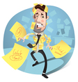 Businessman concept vector image