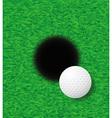 golf 24 vector image vector image