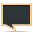 Blackboard Speech Bubble vector image