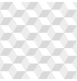 White cubes seamless pattern vector image