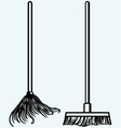 Set Mop vector image