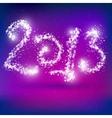 Happy New Year 2013 Greeting Card vector image vector image