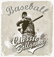 Baseball classic vector image vector image