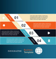 banners infographic template vector image