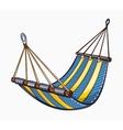 painted hammock vector image