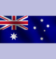 flag of australia - vector image