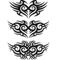 Tribal tattoo design vector image vector image