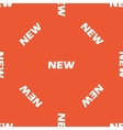 Orange NEW pattern vector image