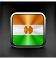original and simple Republic of Niger flag vector image