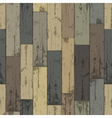 wooden planks seamless pattern vector image