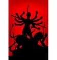 Durga Puja vector image vector image