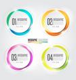 infographics design element vector image