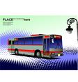 al 0542 city bus 02 vector image vector image