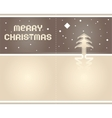 2012 origami postcard merry christmas - paper tape vector image