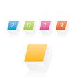 New year 2013 v2 vector image