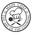 Main chef vector image vector image