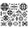 ornament elements vector image