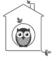 Twig House vector image