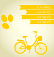 ByciclePink25 vector image