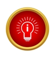 Idea Icon simple style vector image